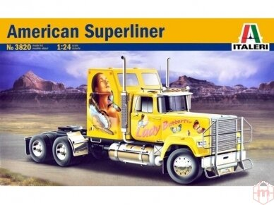 Italeri - American Superliner, Mastelis: 1/24, 3820