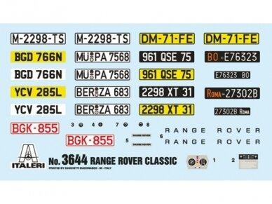 Italeri - RANGE ROVER Classic, 1/24, 3644 2