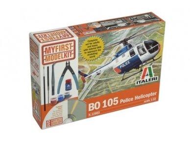 Italeri - BO-105 Police Helicopter Gift kit, 1/32, 12003
