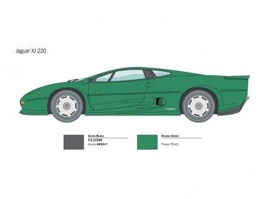 Italeri - Jaguar XJ 220, 1/24, 3631 2