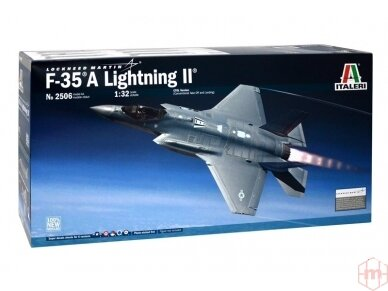 Italeri - F-35A Lightning II, Mastelis: 1/32, 2506
