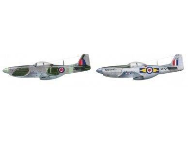 Italeri - F-51D Mustang dovanų komplektas, Mastelis: 1/72, 71086 3