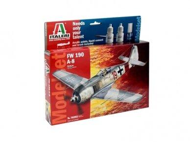 Italeri - FW-190 A-8 dovanų komplektas, Mastelis: 1/72, 70392