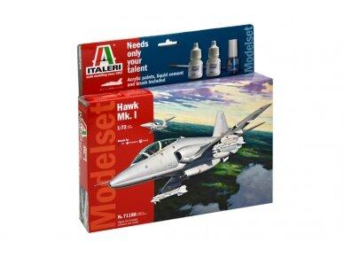 Italeri - Hawk Mk.I dovanų komplektas, Mastelis: 1/72, 71186