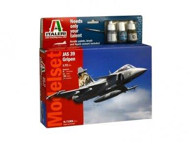 Italeri - JAS 39 Gripen Model set, Scale: 1/72, 71306
