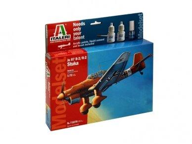 Italeri - Junkers JU-87 B2 Stuka dovanų komplektas, Mastelis: 1/72, 71079