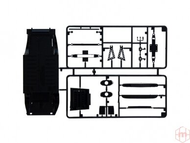 Italeri - Lamborghini Miura model set, Scale: 1/24, 72002 3