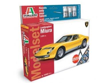 Italeri - Lamborghini Miura model set, Scale: 1/24, 72002