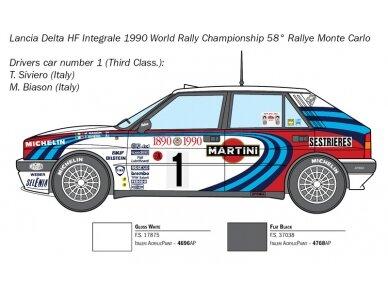 Italeri - Lancia Delta HF integrale, Mastelis: 1/24, 3658 3