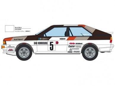 Italeri - Audi Quattro 1981 Monte Carlo Rally, Mastelis: 1/24, 3642 8