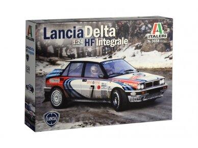 Italeri - Lancia Delta HF integrale, Mastelis: 1/24, 3658