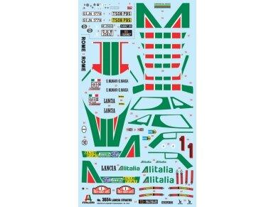 Italeri - Lancia Stratos HF, Mastelis: 1/24, 3654 2
