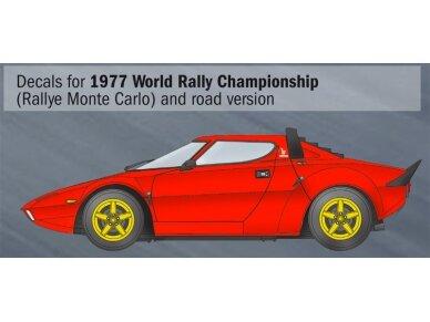 Italeri - Lancia Stratos HF, Mastelis: 1/24, 3654 3