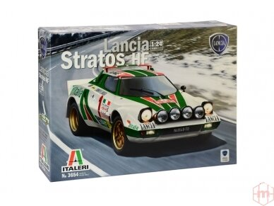 Italeri - Lancia Stratos HF, Mastelis: 1/24, 3654