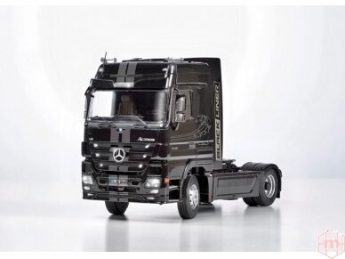 Italeri - Mercedes-Benz Actros MP3 White Liner/Black Liner, Mastelis: 1/24, 3884 4