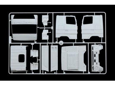 Italeri - Mercedes-Benz Actros MP3 White Liner/Black Liner, Mastelis: 1/24, 3884 6