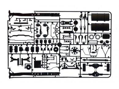 Italeri - Mercedes-Benz Actros MP3 White Liner/Black Liner, Mastelis: 1/24, 3884 9