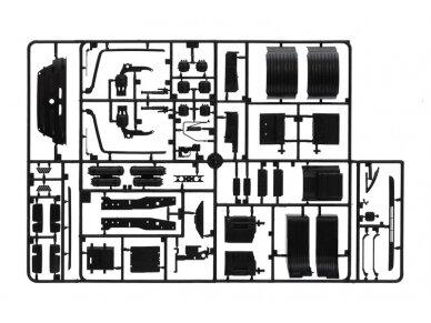 Italeri - Mercedes-Benz Actros MP3 White Liner/Black Liner, Mastelis: 1/24, 3884 10