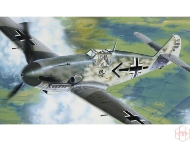 Italeri - Messerschmitt 109 Model set, Scale: 1/72, 71053 2