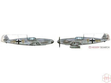 Italeri - Messerschmitt 109 Model set, Scale: 1/72, 71053 9