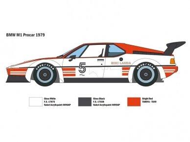 Italeri - BMW M1 Procar, Mastelis: 1/24, 3643 3