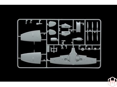 Italeri - Spitfire Mk.Vb. Model set, Scale: 1/72, 71001 4