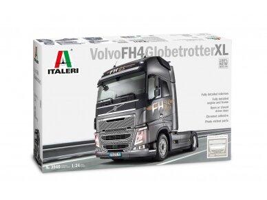 Italeri - Volvo FH16 Globetrotter XL, Mastelis: 1/24, 3940