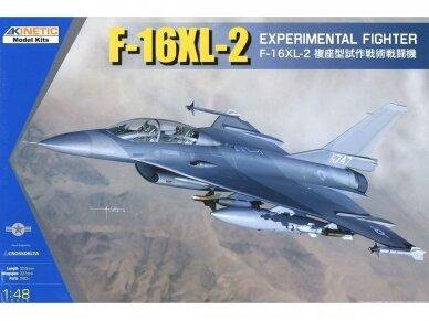 KINETIC - F-16XL-2 Experimental Fighter, Mastelis: 1/48, K48086
