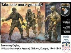 Master Box - Take one more grenade! Screaming Eagles, 101st Airborne (Air Assault) Division, 1/35, MB3574