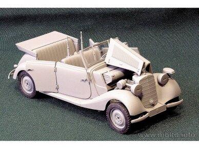 Master Box - German military car Mercedes-Benz 170 V, Mastelis: 1/35, MB35100 3