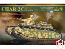 Meng Model - Char 2C French Super Heavy Tank, Scale: 1/35, TS-009
