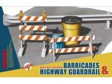 Meng Model - Barricades & Highway Guardrail, 1/35, SPS-013