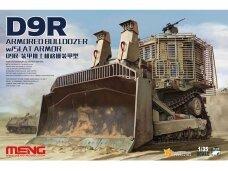Meng Model - D9R Armored Bulldozer w/Slat Armor, 1/35, SS-010