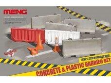 Meng Model - CONCRETE & Plastic BARRIER SET, 1/35, SPS-012