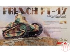 Meng Model - FRENCH FT-17, Mastelis: 1/35, TS-011
