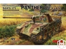 Meng Model - German Medium Tank Sd.Kfz.171 Panther Ausf. A late, Scale: 1/35, TS-035