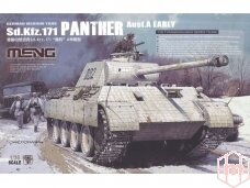 Meng Model - German Medium Tank Sd.Kfz. 171 Panther Ausf. A Early, 1/35, TS-046