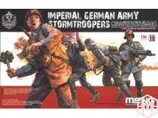 Meng Model - Imperial German Army Stormtroopers, Scale: 1/35, HS-010