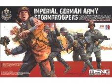 Meng Model - Imperial German Army Stormtroopers, Mastelis: 1/35, HS-010
