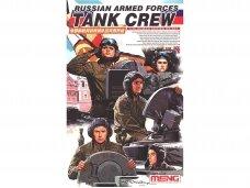 Meng Model - Russian Tank Crew, Scale: 1/35, HS-007