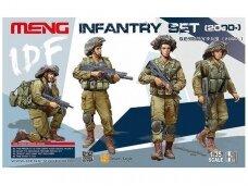 Meng Model - IDF Infantry Set, Scale: 1/35, HS-004