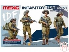 Meng Model - IDF Infantry Set, Mastelis: 1/35, HS-004