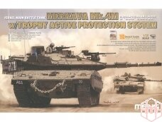 Meng Model - Israel Main Battle Tank Merkava Mk.4M, Scale: 1/35, TS-036