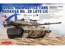 Meng Model - Israel Main Battle Tank Merkava Mk.3D Late LIC, Scale: 1/35, TS-025