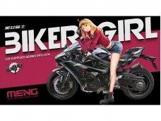 Meng Model - Biker Girl, Mastelis: 1/9, SPS-074