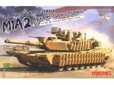 Meng Model - M1A2 Abrams TUSK I/TUSK II SEP, Scale: 1/35, TS-026