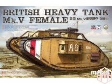 Meng Model - British Heavy Tank Mk.V Female, 1/35, TS-029