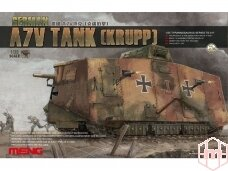 Meng Model - German A7V Tank (Krupp), Mastelis: 1/35, TS-017