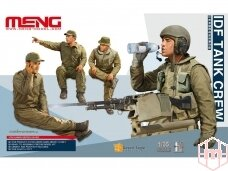 Meng Model - IDF Tank Crew (4 figures), Scale: 1/35, HS-002