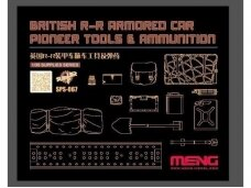 Meng Model - British R-R Armour Car Pioneer Tools & Ammunition, 1/35, SPS-067